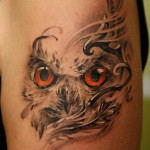 owl-tattoo-face