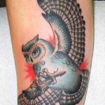 owl-tattoo-leg