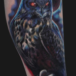 owl-tattoos-colour