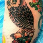 owl-tattoos-old-school