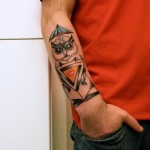 owl-tattoos-umbrella