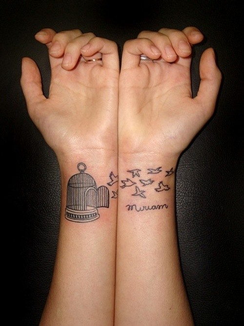 pretty wrist tattoo designs for women tattoo love. Black Bedroom Furniture Sets. Home Design Ideas