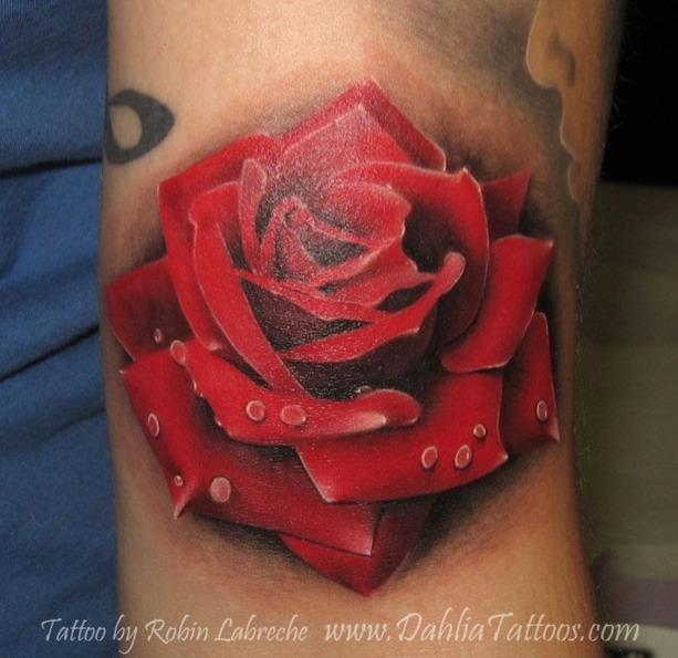 realistic rose tattoos tattoo love. Black Bedroom Furniture Sets. Home Design Ideas