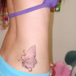 sexy butterfly tattoos