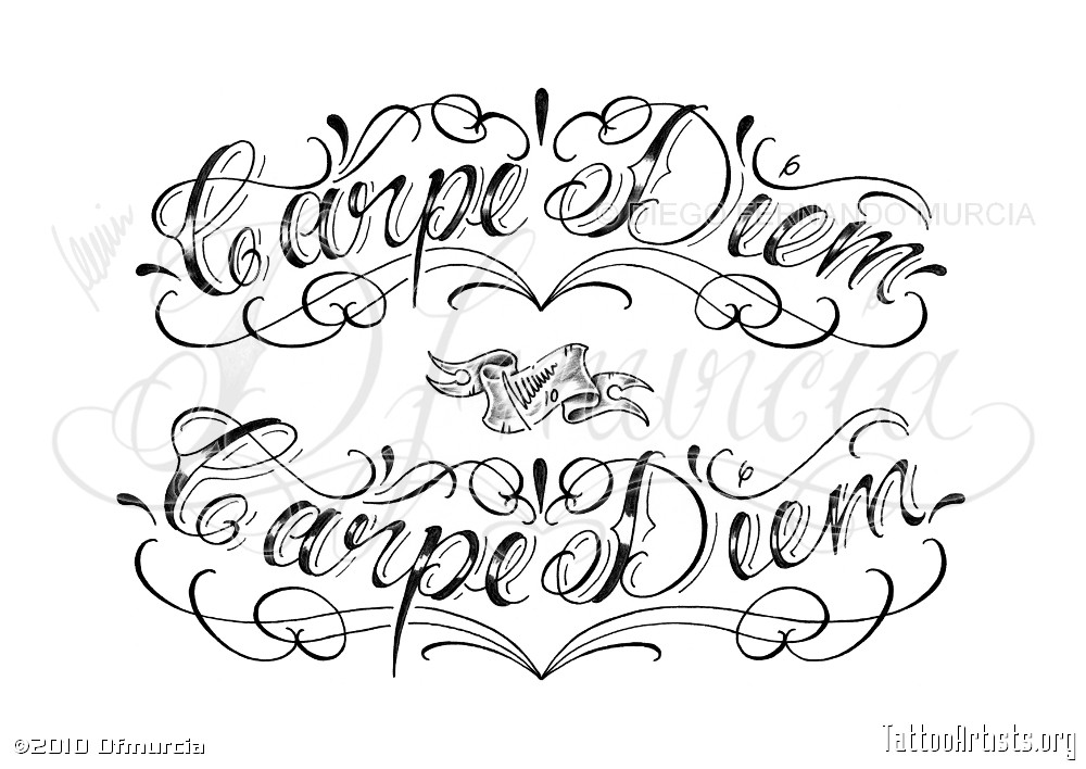 Chicano script tattoo lettering images