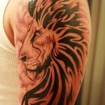 tattoos-for-men-lion