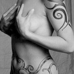 tribal-tattoo-for-women-on-shoulder