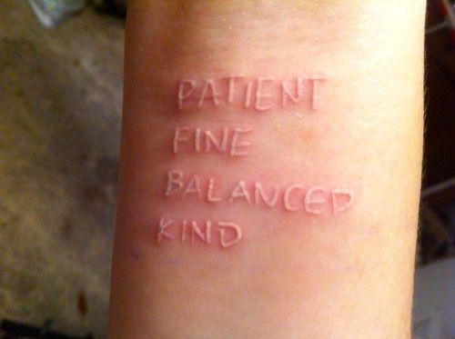 white-ink-tattoos-script   Tattoo Love