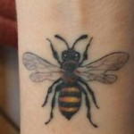 wrist-tattoo-bee