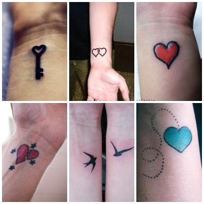 Wrist tattoos inspiration tattoo love for Inspirational wrist tattoos