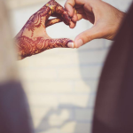 heart henna tattoo design