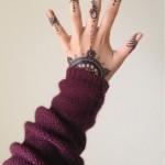 henna finger tattoo designs