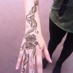 henna tattoo designs arm