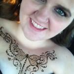 henna tattoo designs chest