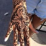 henna tattoo designs hand fresh