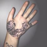 henna tattoo designs palm of hand