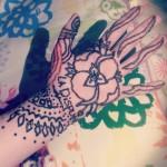 horrible henna tattoo design