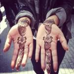 matching henna tattoo designs