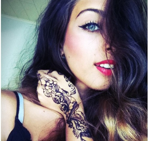 sexy henna tattoo designs