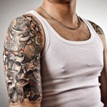 Amazing Tribal Tattoo Designs For Mens Shoulder
