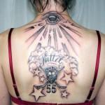 Back Best Female Tattoo Designs