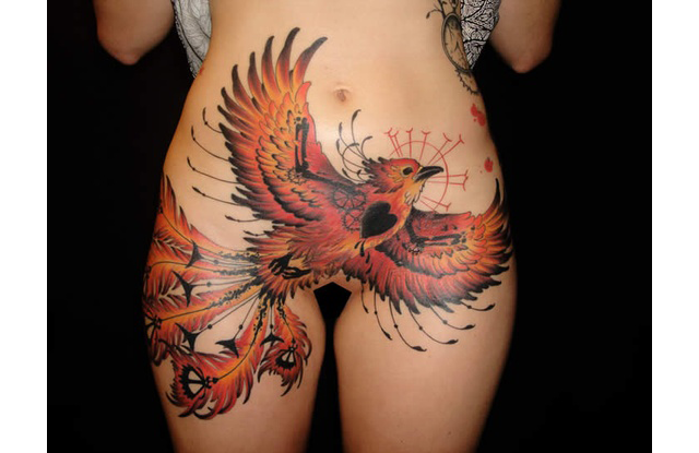 Below Waist Sexy Tattoo Designs