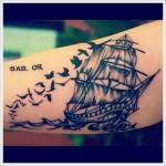 Best Sailing  Tattoo Designs
