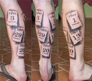 Leg Tattoo Designs For Men Tattoo Love