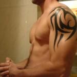 Coolest Tribal Tattoo Designs For Mens Shoulder