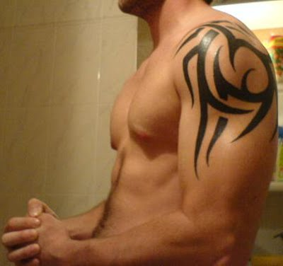 Shoulder Tribal Tattoos Designs
