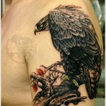 Eagle Creative Shoulder Tattoo Designs