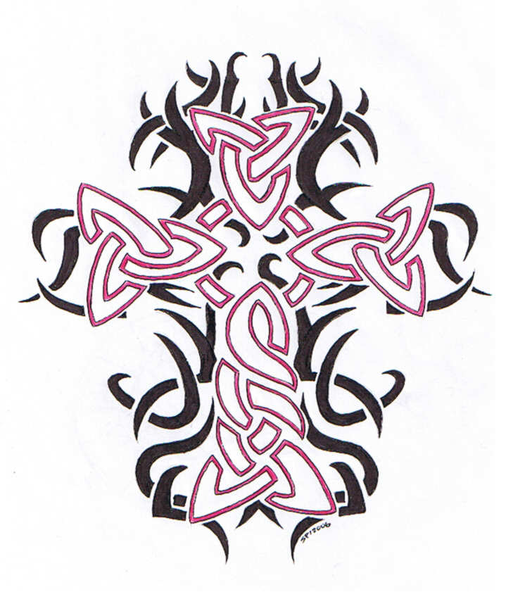 tattoo tribal the back designs on Love Flash Tattoo  Cross Designs  Tattoo Tribal