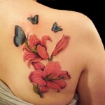Flower And Butterfly Best Tattoo Designs
