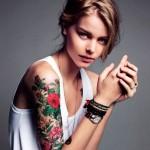 Flower Best Sleeve Tattoo Designs