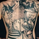 Full Body Creative And Amazing Tattoo Designs For Men