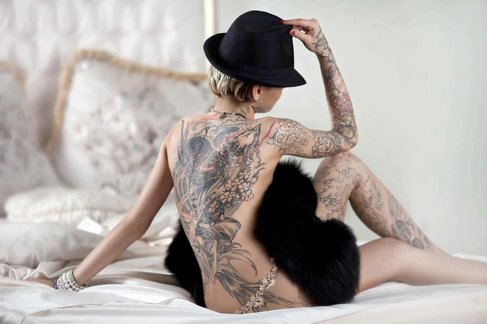 Full Sleeve Back Sexy Tattoo Designs