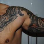 Japanese Dragon Tattoo Designs For Mens Shoulder