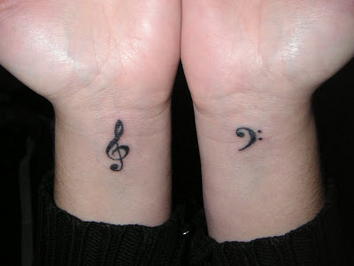 Music Wrist Note Tattoo Design For Men | Tattoo Love