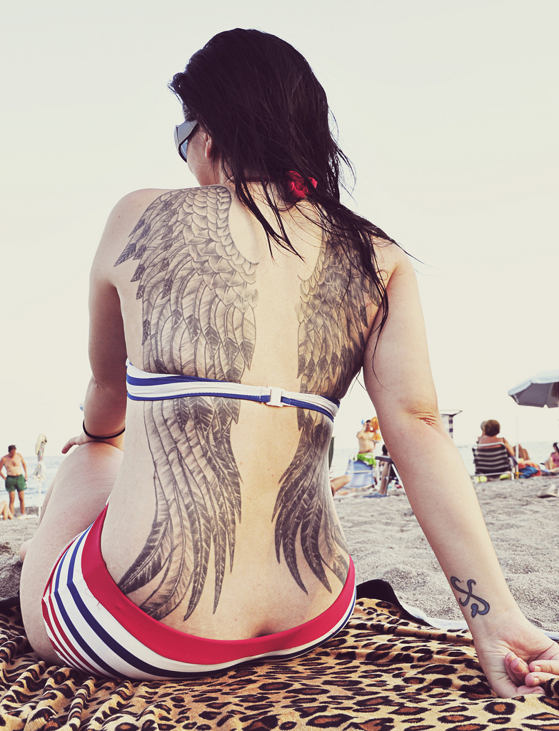 Sexy Wing Tattoo Designs