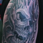 Skull-Tattoo-biomech