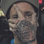 Skull-Tattoos-on-Hand