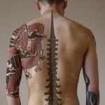 Sleeve Best Black Back Tattoo Designs