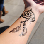 Tattoo Designs of Dream Catcher For Men and Girls (2)
