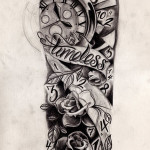 Timeless Half Sleeve Tattoo Designs