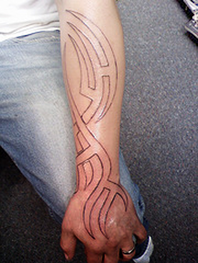 Tribal Arm Classic Tattoo Designs | Tattoo Love