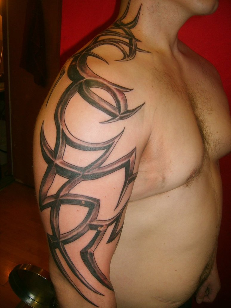 Tribal-Tattoos Tribal-Tattoo-Designs-For-Men-Shoulder