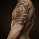 Tribal Tattoo Designs Half Sleeve For Mens Shoulder