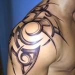 Tribal Tattoos Designs for Shoulder