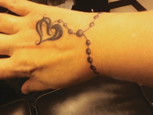 wrist bracelet tattoo design for men tattoo love. Black Bedroom Furniture Sets. Home Design Ideas