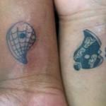 Wrist Symbols Tattoo Design For Men